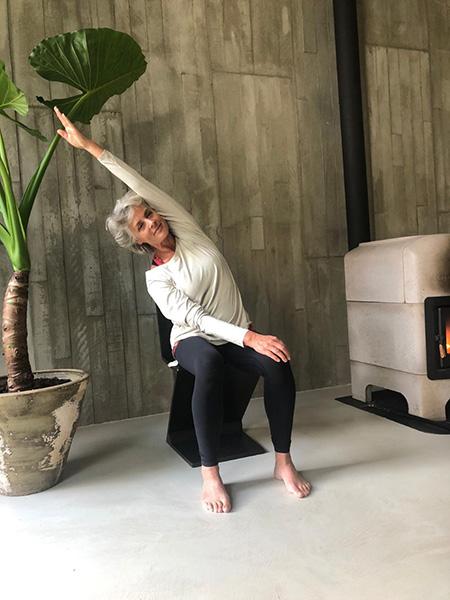 Yoga with Annette Visser in Amsterdam
