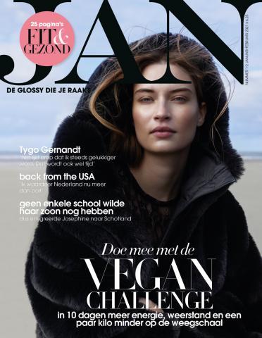 Jan magazine Yoga Annette Visser Amsterdam